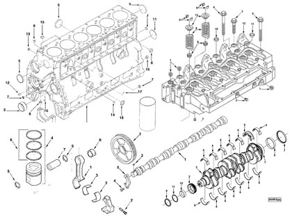 Dodge Ram Diesel Engine Parts Diagram