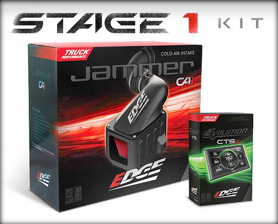 FORD 2003-2007 6.0L STAGE 1 POWER PACKAGE (CALIFORNIA EDITION DIESEL EVOLUTION CTS2/JAMMER CAI)