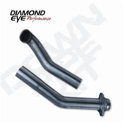 Dodge 04.5-07 Diesel 5.9    Diamond Eye Downpipe starts as 4in then transitions up to 5in