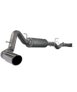 06-07 Gm Duramax 6.6L Lly/Lbz Cat Back Aluminized Large Bore Exhaust System Hd