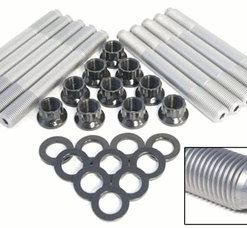 Kit 17-22A Ford 6.4 Diesel Head Stud Kit Material: 17-22A  215 KSI MIN  Glass Bead Finish
