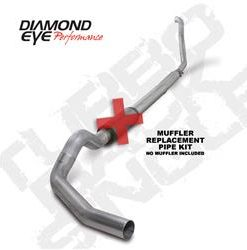 """KIT  5""""  TURBO-BACK  MUFFLER REPLACEMENT PIPE  SINGLE    OFF-ROAD; 409 STAINLESS STEEL: 1994-1997.5 FORD 7.3L  POWERSTROKE F250/F350"""