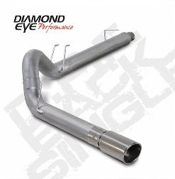 Ford F250/350 07.5-08 Diesel 6.4 Powerstroke   5 In. Dpf Back Aluminized Exhaust