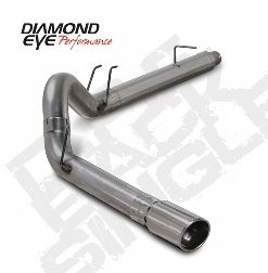 Ford F250/350 07.5-08 Diesel 6.4 Powerstroke   5 In. Dpf Back Stainless Exhaust