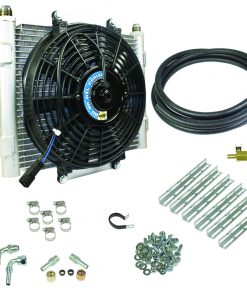 Xtruded Trans Oil Cooler - 1/2 inch Cooler Lines