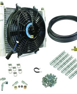 Xtruded Trans Oil Cooler - 3/8 inch Cooler Lines
