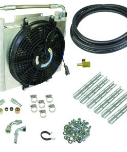 Xtrude Double Stacked Transmission Cooler Kit - Universial 1/2in Tubing