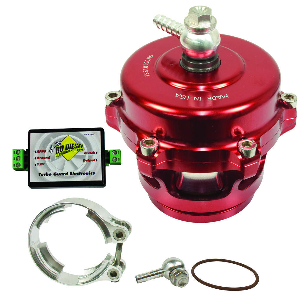 Turbo Guard Kit - Aluminum Adapter / Red Valve