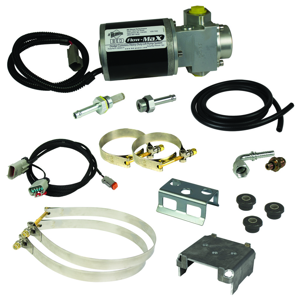 Flow-MaX Fuel Lift Pump - Dodge 2010-2012 6.7L