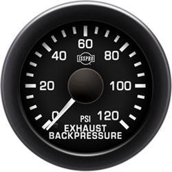 EV  EXHAUST BACKPRESSURE 0-120 - STYLE 1