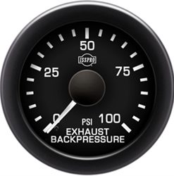 EV  EXHAUST BACKPRESSURE 0-100 - STYLE 1