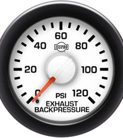 EV  EXHAUST BACKPRESSURE 0-120 - STYLE 4