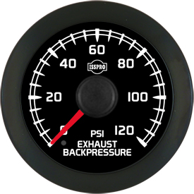 EV  EXHAUST BACKPRESSURE 0-120 - STYLE 8