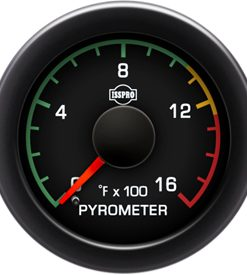 0-1600 PYROMETER W/ COLOR BAND