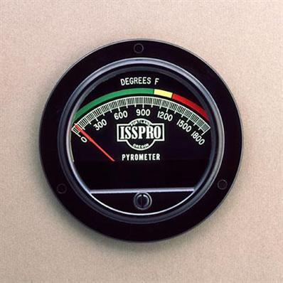 Pyrometer 2 3/4 In. 1800F Color Dial W/10' Kit