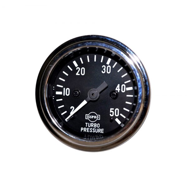 Gauge Mech Turbo Psi 2-50# Chr