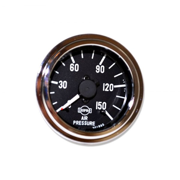 Gauge Mech Dual Air Psi 150# Chr