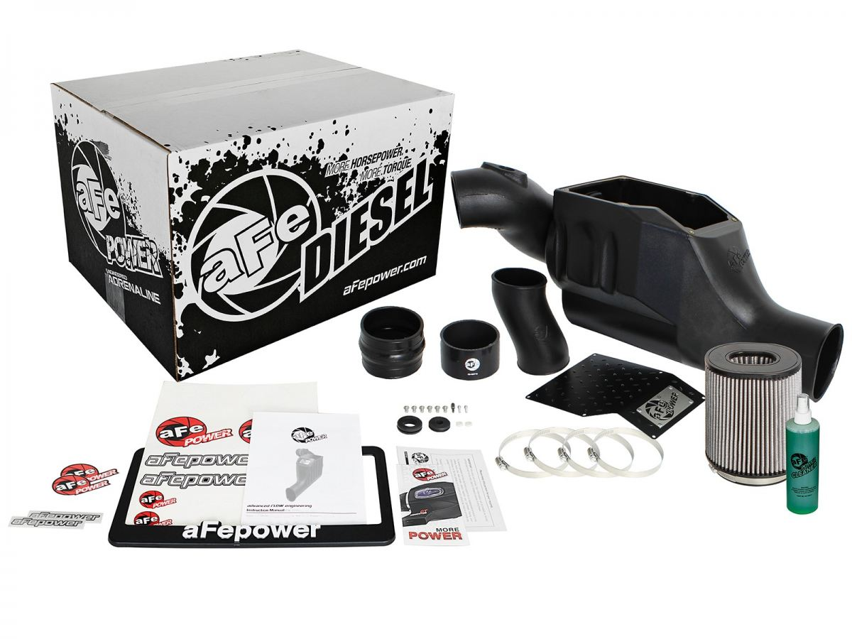 aFe Pro Dry S Cold Air Intake Fits 2003-2007 Ford Powerstroke 6.0L  #51-30392